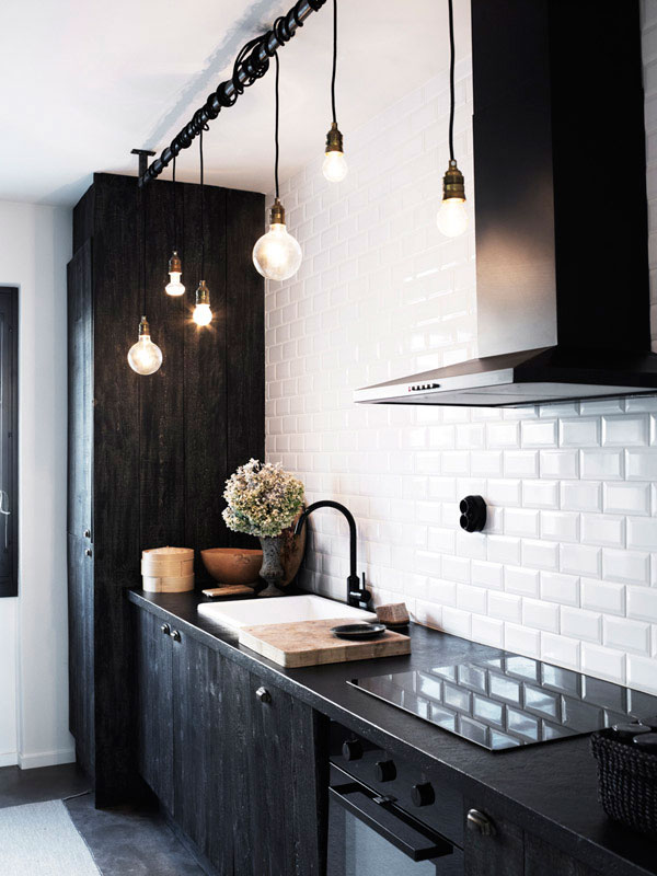 Traditional subway tiles