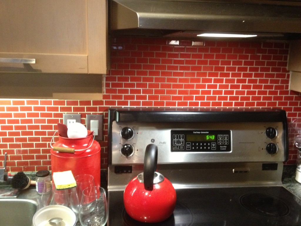Red Back Splash